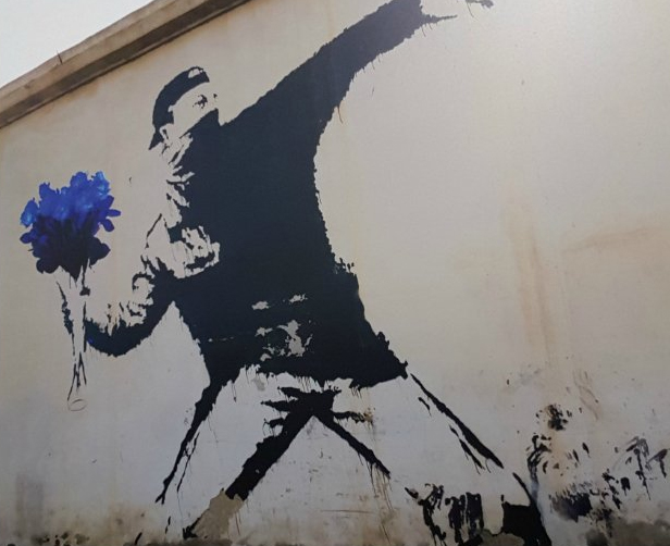 banksy-rage-flower-thrower-marine-le-pen