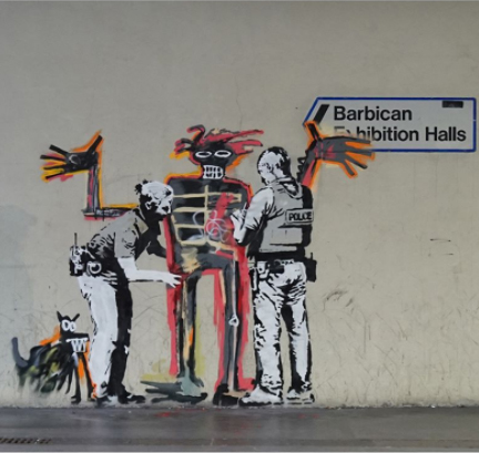 Banksy Basquiat street art exhibition boom for real barbican