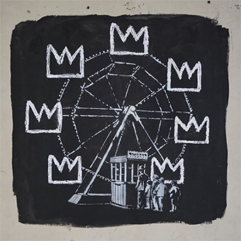 Banksy graffiti Basquiat street art exhibition boom for real barbican